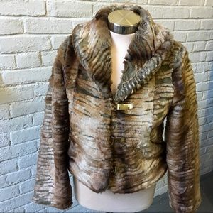 Baby Phat faux fur jacket, size small
